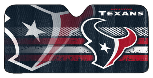 """Houston Texans Auto Sun Shade - 59""""x27"""""""