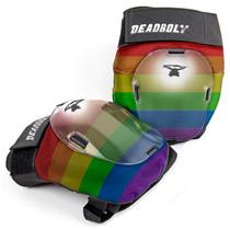 DEADBOLT Elbow pad rainbow