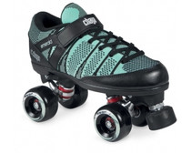 DESCRIPTION  These Chaya skates are great for beginners looking to start doing roller derby and skaters looking for a well ventilated low-cut quad skate. It offers a superb platform without breaking the bank. And the cool thing is that if you decide that Roller Derby is for you you can always upgrade the plate, wheels and other parts for a more personalized style and better parts.  The boot is very soft with even softer padding which ensures a comfortable fit. It is made from a soft composite power-knit material that makes it cool to use on warm days. It is low cut for optimum maneuverability.