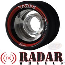RADAR WHEELS (4) DEVIL RAY BLACK 62mm