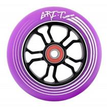 Grit Ultralight Spoked V2 Wheel - 110mm - Purple on Black