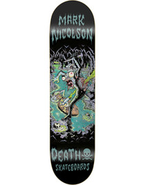 Death Nicolson Polluted Cave Pro Deck - 8.75