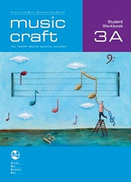 Music Craft - Student Workbook 3A, series of AMEB Music Craft, Publisher  AMEB