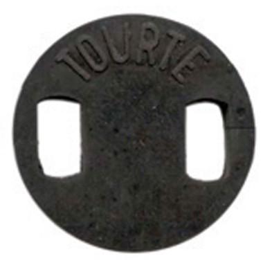 Cello Tourte Rubber Mute Round Shape