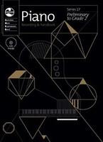 Piano Prelim To Grade 2 Series 17 Cd/Handbook, series of AMEB Piano, Publisher  AMEB