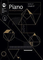 Piano Series 17 - Recording and Handbook Grade 8, series of AMEB Piano, Publisher  AMEB