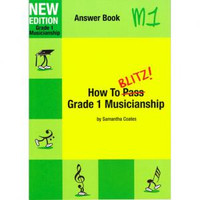 How To Blitz Musicianship Gr 1 Answer Book