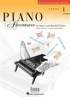 Piano Adventures Level 4 - Sightreading Book, by  Nancy Faber, Randall Faber for Piano, Publisher  Faber Piano Adventures