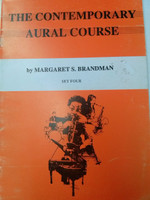 The Contemporary Aural Course Set Four by Margaret S. Brandman 70 % off