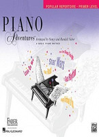 Piano Adventures Primer Level - Popular Repertoire Book, by Nancy Faber Randall Faber for Piano, Publisher  Faber Piano Adventures