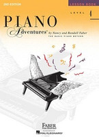 Piano Adventures Level 4 - Lesson Book 2nd Edition, by  Nancy Faber Randall Faber for Piano, Publisher  Faber Piano Adventures