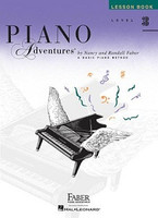 Piano Adventures Level 3B - Lesson Book, by Nancy Faber Randall Faber for Piano, Publisher  Faber Piano Adventures
