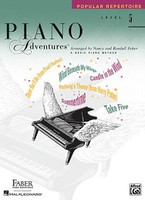 Piano Adventures Level 5 - Popular Repertoire Book, by Nancy Faber Randall Faber for Piano, Publisher  Faber Piano Adventures