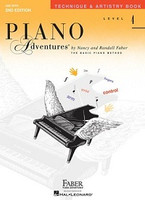 Piano Adventures Level 4 - Technique & Artistry Book, by  Nancy Faber Randall Faber for Piano, Publisher  Faber Piano Adventures