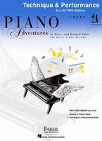 Piano Adventures All-In-Two Level 2A Technique & Performance Book, by Nancy Faber Randall Faber for  Piano, Publisher  Faber Piano Adventures