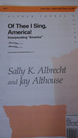 Of Thee I Sing Americafor 2-part choir and piano by Sally K.Albrecht,70% off