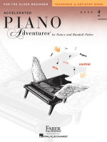 Accelerated Piano Adventures for the Older Beginner Technique & Artistry Book 2, by  Nancy Faber Randall Faber for Piano, Publisher  Faber Piano Adventures