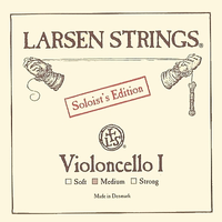 """A"" Larsen Cello String 4/4 (single) Soloist Edition Medium"