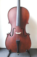 Enrico Student Plus II 4/4 Cello Outfit (includes Bow, Semi Hard Case & Pro Set-Up)