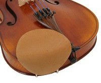 Strad Pad Violin & Viola Chinrest Cover -  Large Size (Beige) - SECONDS