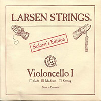 Larsen Cello String Set Solo - Medium Tension
