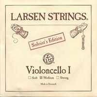 Larsen Cello String Set Solo - Medium Tension