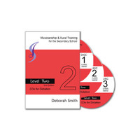Musicianship and Aural Training for the Secondary School LEVEL 2 CDs for Dictation (Set of 3 CDs)