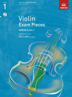 *SALE* ABRSM Grade 1, Score, Part & CD: Selected from the 2012-2015 Syllabus