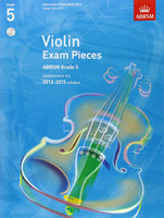 *SALE* ABRSM Grade 5, Score, Part & CD: Selected from the 2012-2015 syllabus