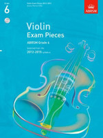 *SALE* ABRSM Grade 6, Score, Part & 2 CDs: Selected from the 2012-2015 syllabus