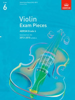 *SALE* ABRSM Grade 6, Score & Part: Selected from the 2012-2015 syllabus