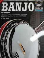 Progressive Banjo for Beginners with CD by Peter Gelling,30% off