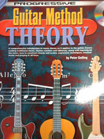 Progressive Guitar Method Theory with CD by Peter Gelling,30% off
