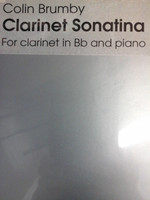 Clarinet Sonatina in B flat  by Colin Brumby,70% off