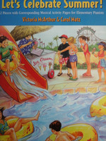 Let's Celebrate Summer Book1 by Victoria McArthur&Carol Matz,70% off