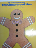 The Gingerbread Man,words&music by David Wood arr.for Piano/Vocal/Guitar,70% off