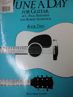 TUNE A DAY FOR GUITAR BY P.HERFURTH AND R.DOMENICK,BOOK TWO,70% OFF