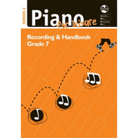 AMEB - Piano For Leisure, NO CD, Series 2, Grade 7, Recording and Handbook