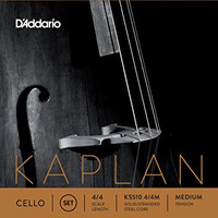 Kaplan Cello String Set - Medium Tension - 4/4
