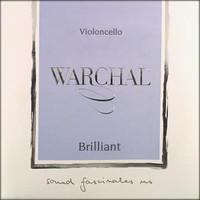 Warchal Brilliant Cello String Set - 4/4