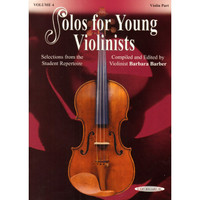 Solos For Young Violinists Book 4 - 50% OFF, PIANO PART ONLY