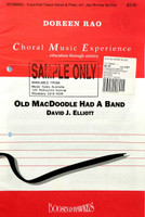 Old MacDoodle had a Band - David J. Elliott - 70% Off