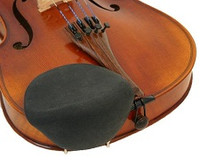 Violin & Viola Chinrest Cover - Strad Pad Regular Size (Black)
