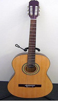 Martinez Slim Jim Nylon String 4/4 Size Classical Guitar with built-in Tuner
