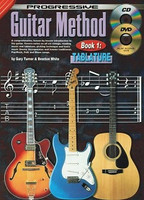 Progressive Guitar Method Tablature Bk 1 - incl. CD & DVD