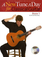 A New Tune A Day for Classical Guitar Bk 1 with CD