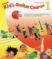 Alfred's Kid's Guitar Course 1 with Online Access - Ages 5 and Up