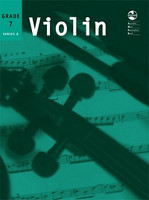 Violin Series 8 -Seventh Grade, for Violin&Piano, Publisher AMEB, Series AMEB Violin