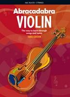 Abracadabra Violin 3rd Edition, for Violin, Author Peter Davey, Publisher A & C Black, Series Abracadabra Strings