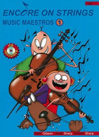 Encore On Strings -Music Maestros 1 Viola, for Viola, Author Mark Gibson, Natalie Sharp, Publisher  Accent Publishing